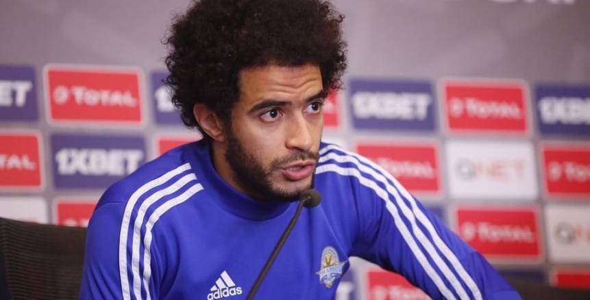 عمر جابر: مواجهة المصري لم تكن سهلة.. وهاني سعيد يشيد بـ ميدو