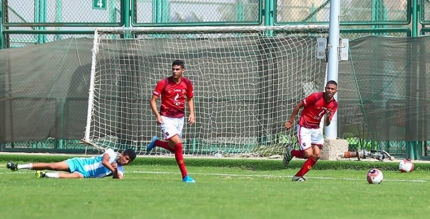 ناشئو الأهلي يخوضون مباريات ودية استعدادا لدوري منطقة القاهرة