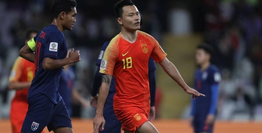 بالفيديو| الصين إلى ربع نهائي أمم آسيا بعد عبور عقبة تايلاند بـ«ثنائية»