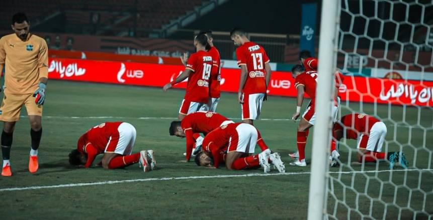 الأهلي يفوز على مصر للمقاصة 3/1 في الدوري