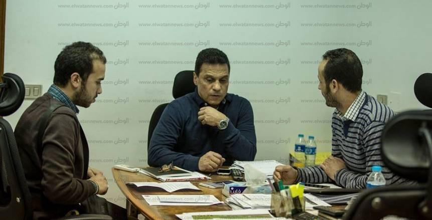 حسام البدري لـ«الوطن»: لم ألعب مدافعاً أمام بيدفيست والناس مش فاهمة حاجة
