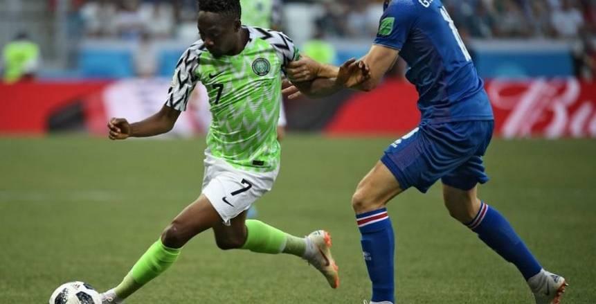بالفيديو| «موسى» يدخل تاريخ نيجيريا في كأس العالم ويحقق انجاز غير مسبوق