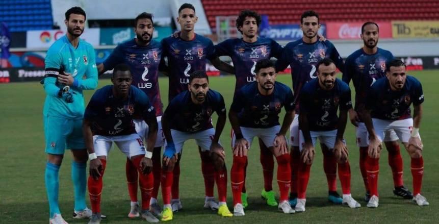 جهاز المنتخب يتابع مباراة الأهلي والمقاولون.. وناصر ماهر يؤارز الأحمر