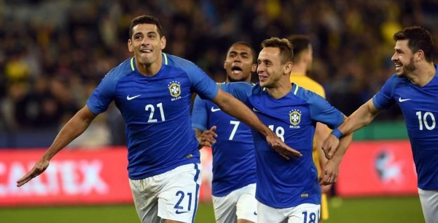 بالفيديو| البرازيل تكتسح أستراليا برباعية وديا
