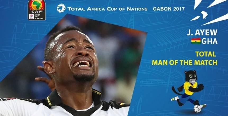 بالأرقام| جوردان أيوو رجل مباراة غانا والكونغو الديموقراطية