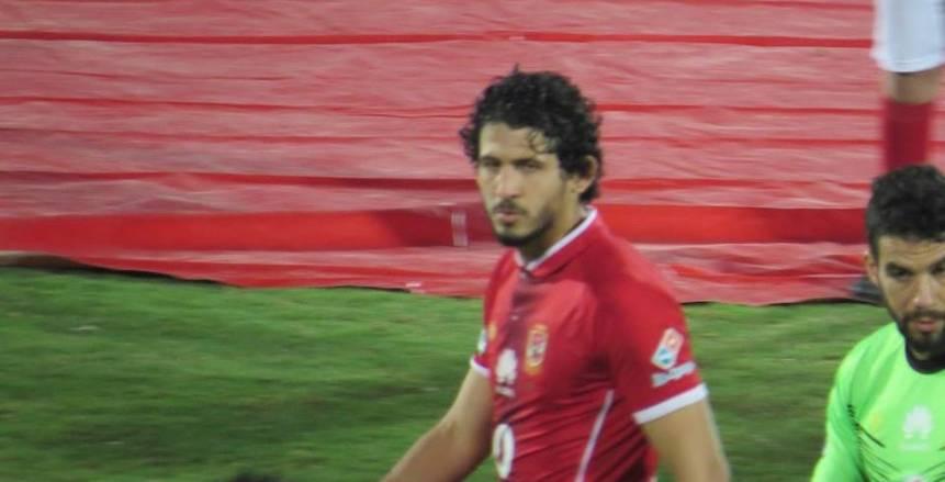 أحمد حجازى يتعافى من الضامة