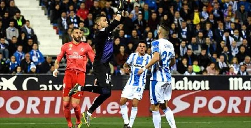 تعادل إيجابي بين ريال مدريد وليجانيس في الدوري الإسباني