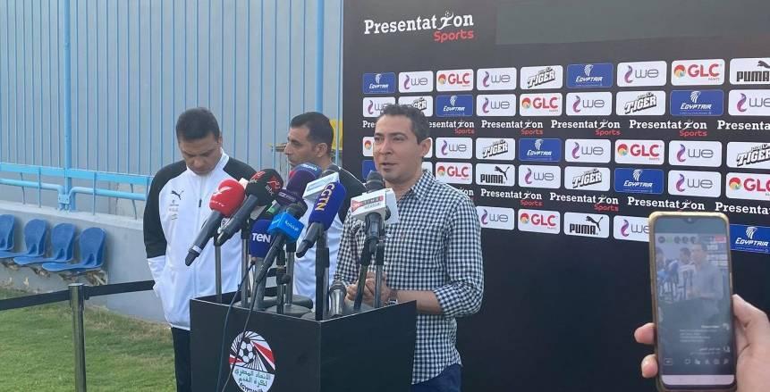 محمد بركات يحضر لمقر اتحاد الكرة للاجتماع مع أحمد مجاهد