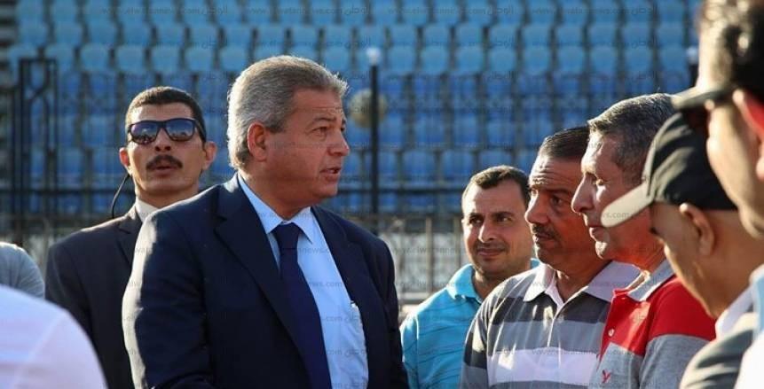 """وزير الرياضة يبعد نفسه عن أزمة """"لائحة"""" الزمالك"""