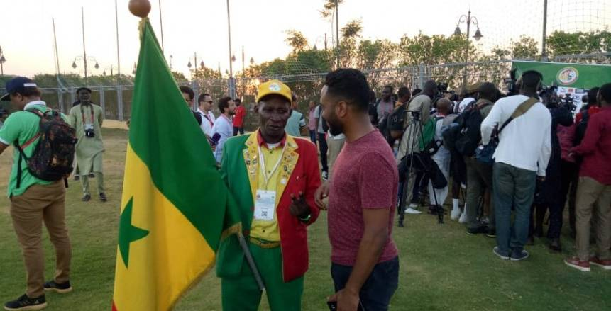 كبير مشجعي السنغال: