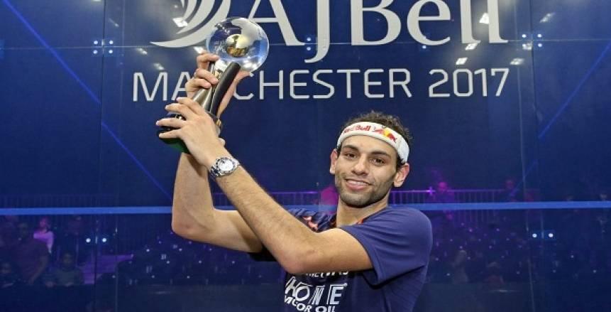 محمد الشوربجي يفوز ببطولة أمريكا المفتوحة للاسكواش