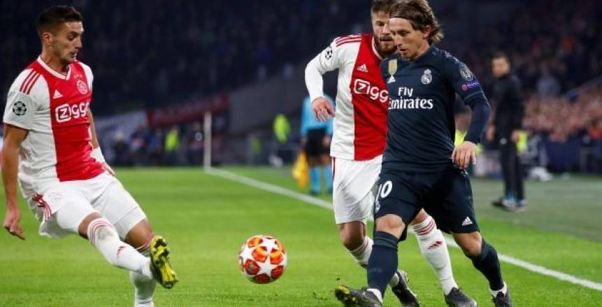 لوكا مودريتش يقود التشكيل المتوقع لفريق الريال ضد أياكس في دوري أبطال أوروبا