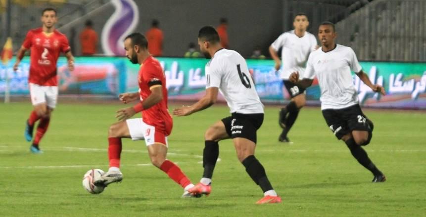 الشوط الأول من مباراة السوبر المصري بين الأهلي وطلائع الجيش