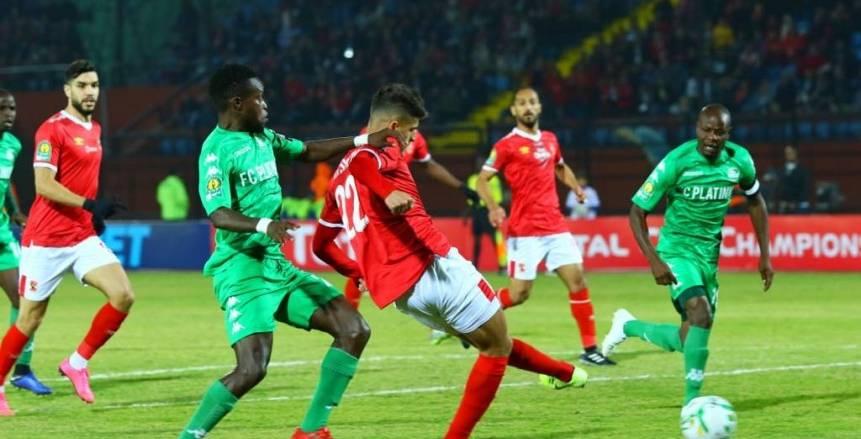 الأهلي يفوز على بلاتينيوم بهدفين في دوري أبطال أفريقيا