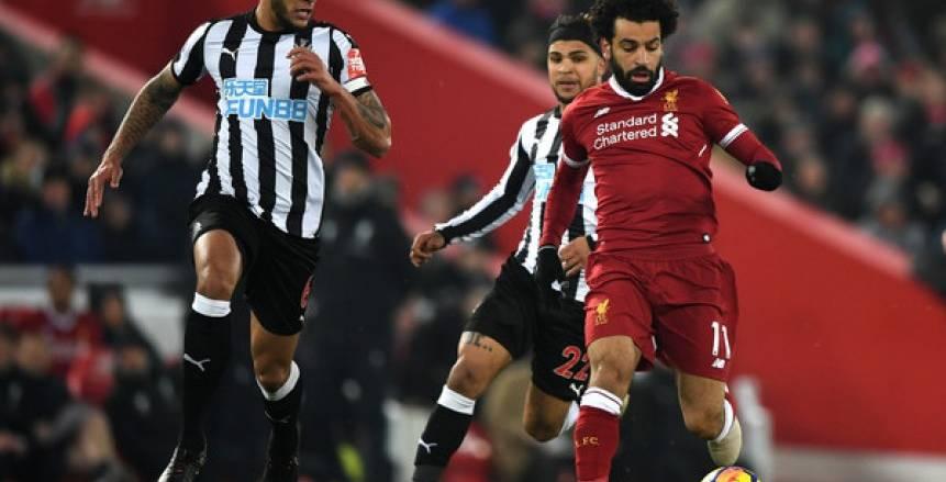 """ليفربول يتطلع لرقم جديد أمام نيوكاسل.. ومحمد صلاح يبحث عن """"الهاتريك"""""""