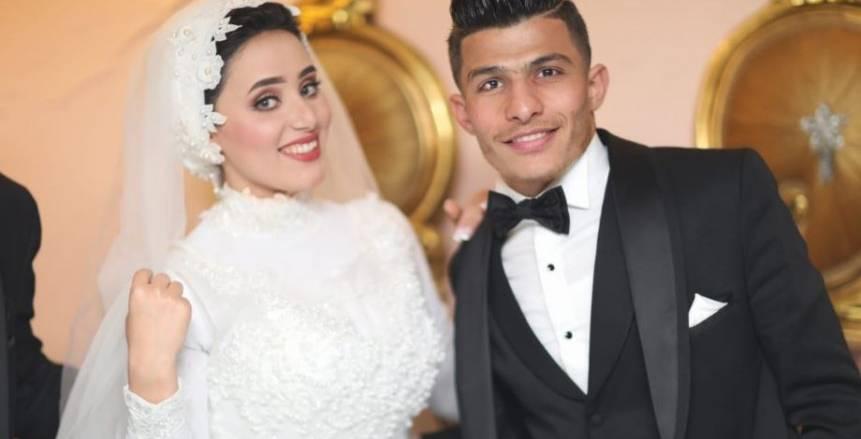 بالفيديو| إسلام عيسى يحتفل بزفافه بمسقط رأسه بالشرقية