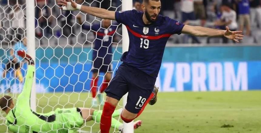 أهداف مباراة فرنسا والمجر في يورو 2020.. جريزمان يتعادل للديوك