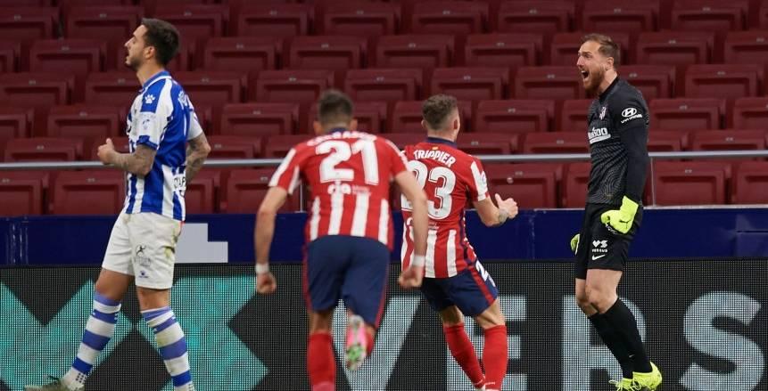 أتلتيكو مدريد يتعادل أمام ريال بيتيس ويقدم هدية للريال وبرشلونة «فيديو»