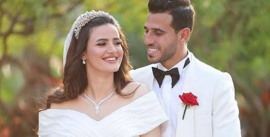 الخطيب يحضر حفل زفاف حمدي فتحي «فيديو»