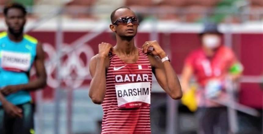 القطري معتز عيسى برشم يتوج بذهبية الوثب العالي في أولمبياد طوكيو 2020