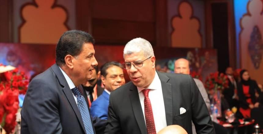 حفل تسليم درع الدوري للنادي الأهلي