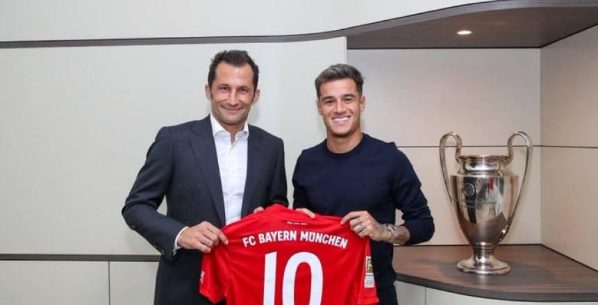 رسميا.. برشلونة يعلن انتقال كوتينيو إلى بايرن ميونيخ