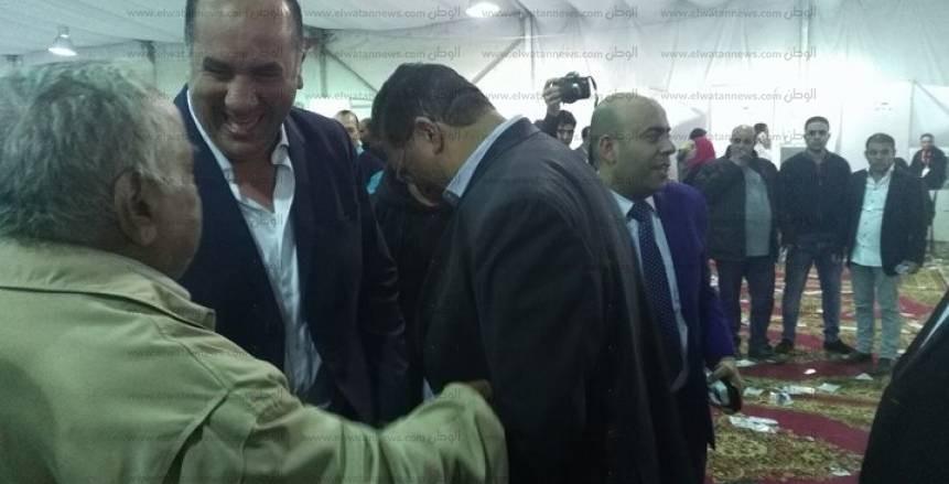بالصور  وصلة هزار في انتخابات الزمالك بين أحمد جلال وسيف العماري
