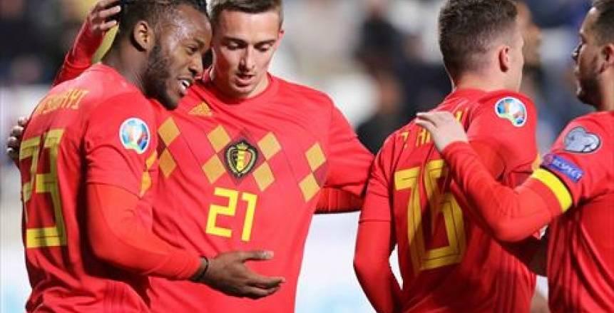 بلجيكا تفوز على قبرص بهدفين
