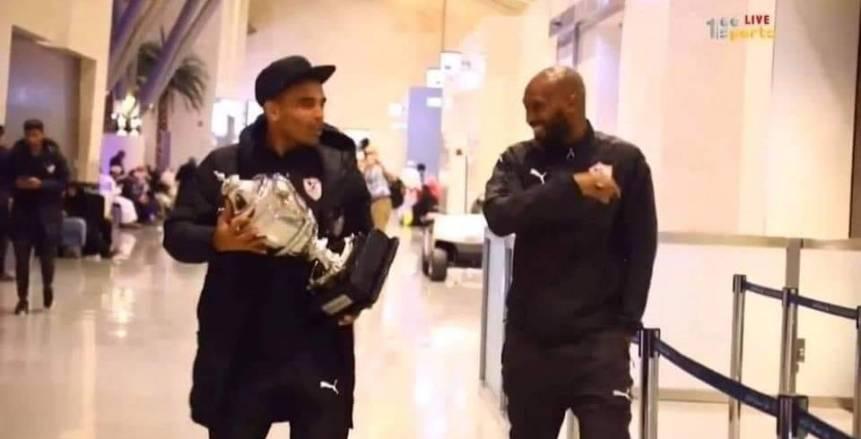 للاحتفال في وجود جماهير الأهلي.. الزمالك يصطحب كأس السوبر الأفريقي إلى الإمارات
