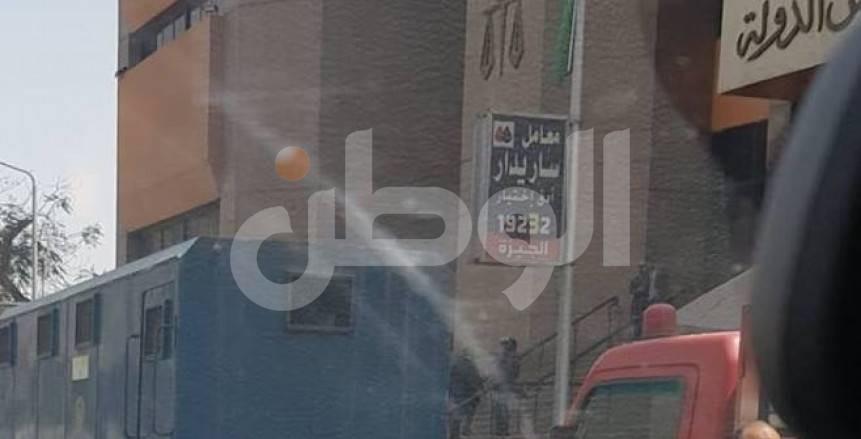 بالصور.. تعزيزات أمنية أمام محكمة القضاء الإداري بسبب مرتضى منصور