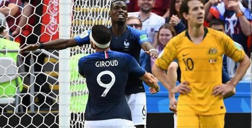 مباراة فرنسا وأستراليا