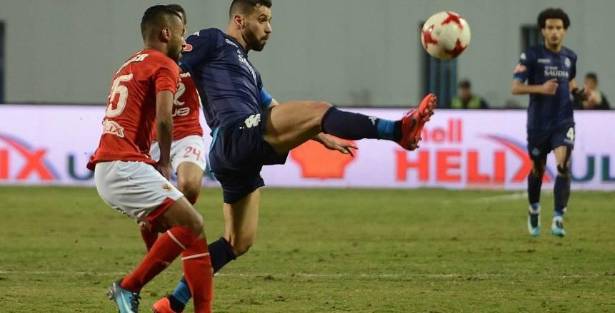 مباراة الأهلي وبيراميدز على ستاد برج العرب بدون جمهور