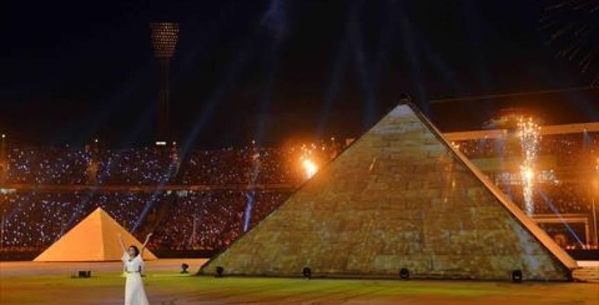 صور خاصة| حفل افتتاح أمم إفريقيا مصر 2019