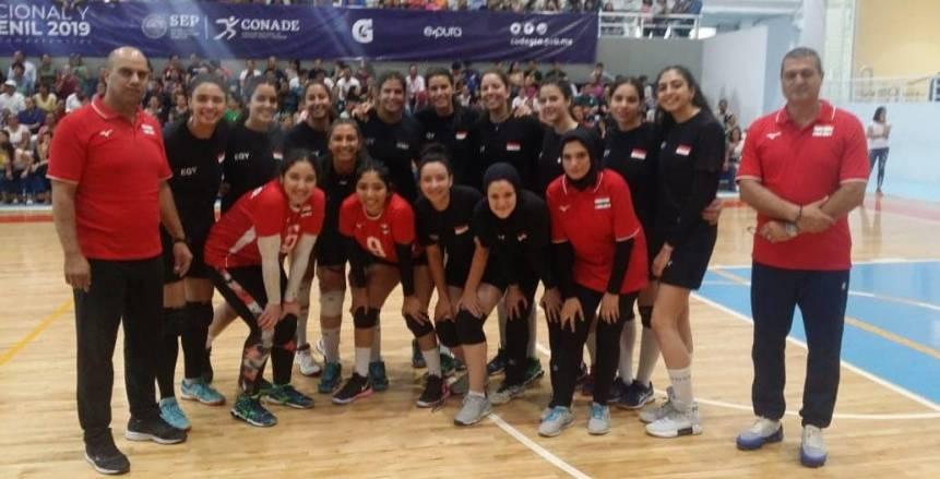 اليوم.. مصر تصطدم بصربيا في بطولة العالم لشابات الكرة الطائرة بالمكسيك