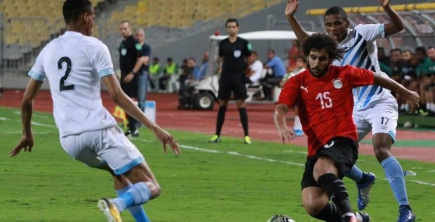 منتخب مصر يهزم بوتسوانا بشق الأنفس في أول اختبار للبدري