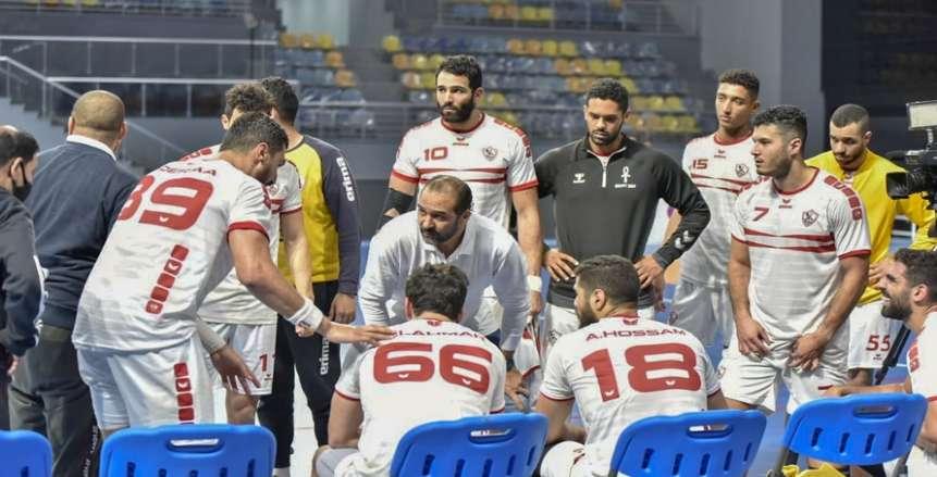 محمد علي والدرع والأحمر.. أبطال يد الزمالك يعوضون سقوط نجوم كرة القدم