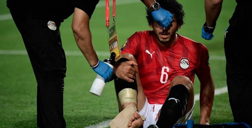 حسام البدري يطمئن على أحمد حجازي بعد تعرضه للإصابة