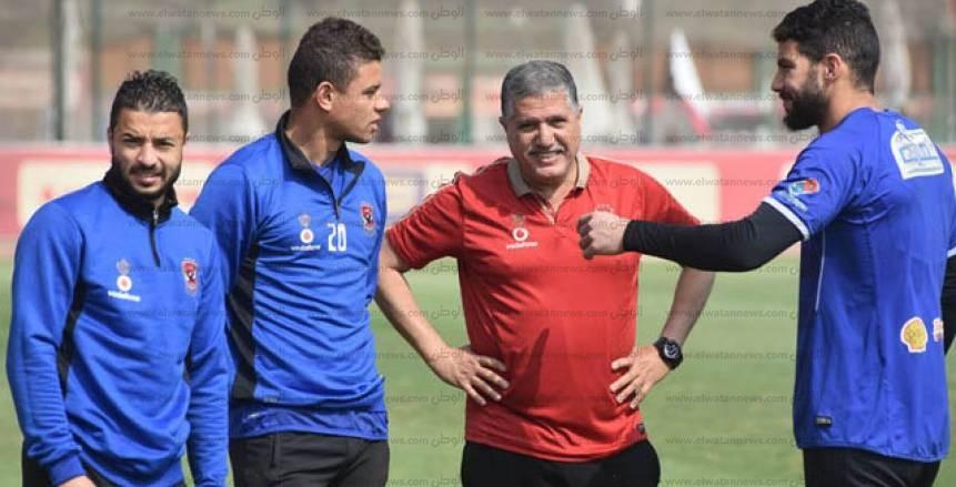 باسم علي يشارك في مران الأهلي بكرواتيا بعد عودته من الإصابة