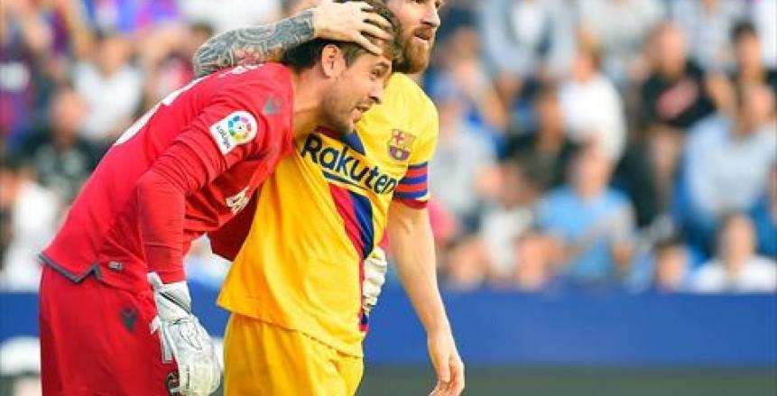 موعد مباراة برشلونة وليفانتي اليوم في الدوري الإسباني والقنوات الناقلة