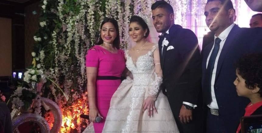 سعد الصغير وبوسي يشعلان حفل زفاف إبراهيم عبد الخالق