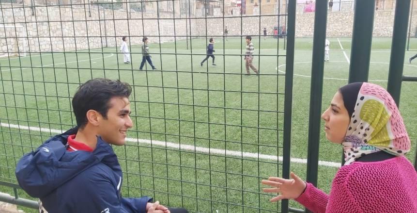الفارس محمد طاهر زيادة: سننافس على ميدالية بأولمبياد طوكيو