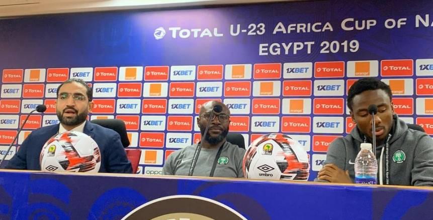 """لاعب """"نيجيريا الأوليمبي"""": منتخبنا قوي ولن تؤثر فيه الغيابات"""