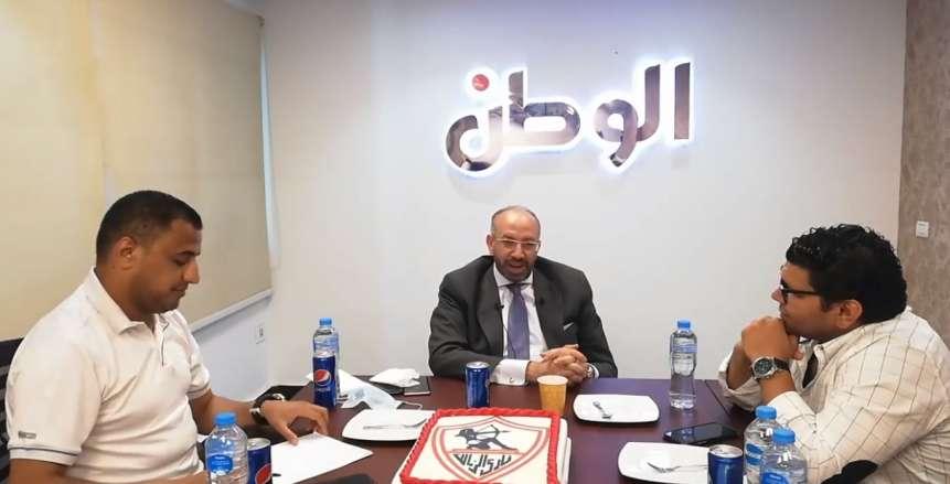 حسام المندوه يستقر على خوض انتخابات الزمالك على منصب أمين الصندوق