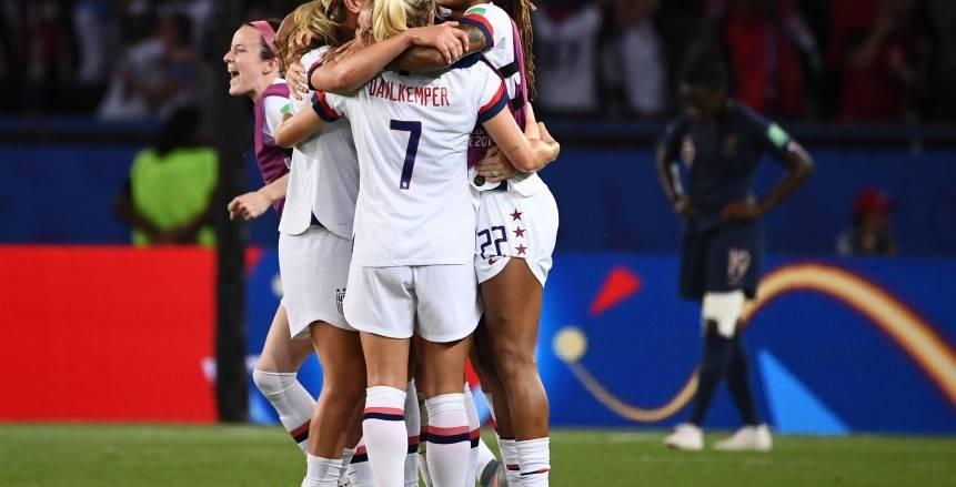 أمريكا تهزم فرنسا بثنائية وتصعد لقبل نهائي كأس العالم