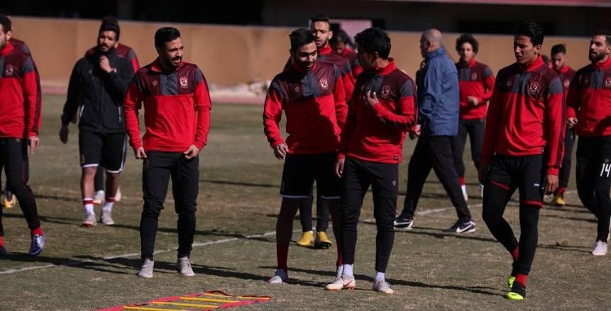 تحت إشراف «أليخاندرو»  مران بدني قوي للاعبي الأهلي