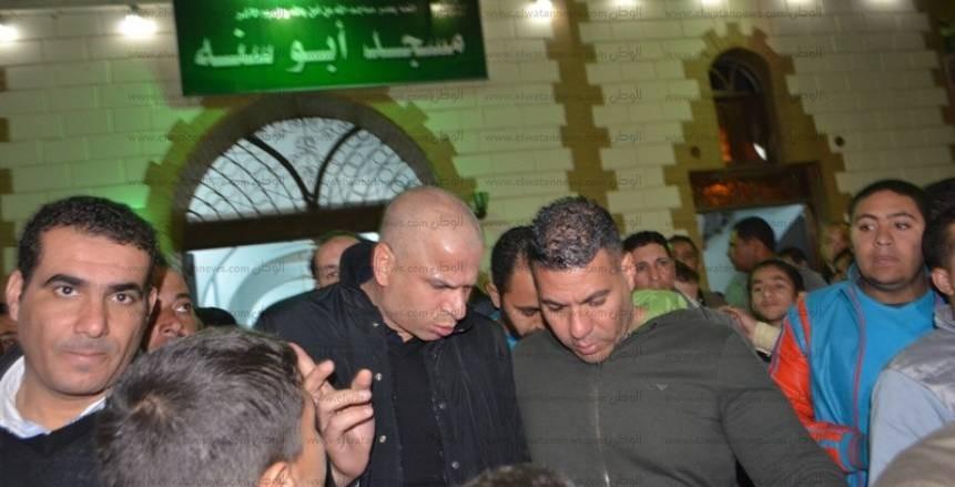 جنازة والد محمد أبو تريكة