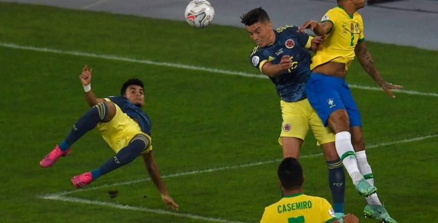 بالهدف القاتل.. البرازيل يفوز على كولومبيا في كوبا أمريكا