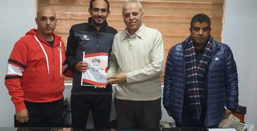 رسميا.. أحمد علي أول صفقات الإنتاج الحربي الشتوية