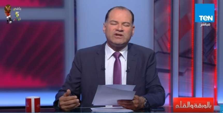 """بعد نجاح افتتاح كأس الأمم: الديهي يطالب """"فيفا"""" بتنظيم مصر وفلسطين كأس العالم 2022"""