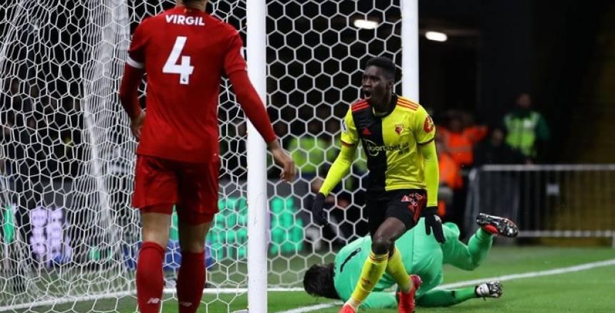واتفورد يمنع ليفربول من تحقيق رقم قياسي وإنجاز تاريخي